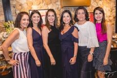 Gina Studart, Liliane Farias, Márcia Andréa, Maria Lucia Negrão, Guiomar Feitosa e Lorena Pouchain