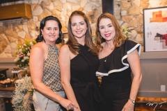 Juliana Barroso, Márcia Andréa e Jane Juaçaba