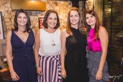 Liliana Farias, Gina Studart, Márcia Andréa e Lorena Pouchain