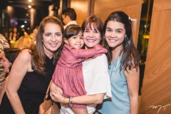 Márcia Andréa, Sara Leal, Suzy Garcez e Priscila Leal