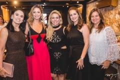 Nauza Rocha, Thais Pinto, Érika Queiroz, Marcia Andréa e Safira Saboia