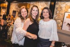 Safira Saboia, Márcia Andréa e Guiomar Feitosa