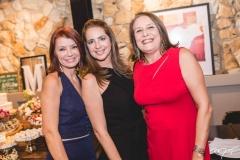 Suzana Farias, Márcia Andréa e Rosana Arrais