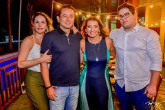 Aline e Jose Milton Rios, Marcia Travessoni e Pedro Bangs