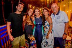 Fernando, Talita, Marcia, Lara e Fernando Travessoni