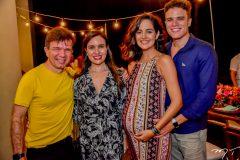 Waldonys e Luciana Menezes, Maria Jeycilene e Marcos Lessa