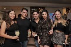 Álvaro Rolim, Bianca Aragão, Maria Eduarda Sales e Felipe Pinto