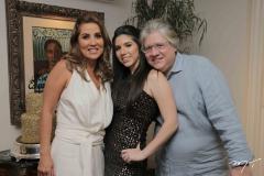 Ana Vládia, Maria Eduarda e Cássio Sales