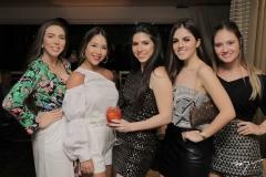 Andressa Kelly, Nicole Brookes, Maria Eduarda Sales, Lara Ildefonso e Leticia Teixeira