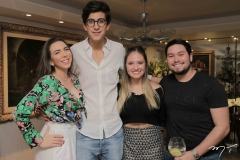 Andressa Kelly, Rafael Oliveira, Leticia Teixeira e Olavo Barros