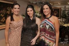 Anne Alcântara, Maria Eduarda Sales e Ana Virginia Martins