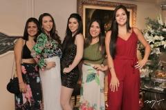 Denise Alencar, Andressa Kelly, Maria Eduarda Sales, Fernanda Arcoverde e Maria Eduarda Albuquerque