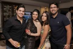 Felipe Pinto, Maria Eduarda Sales, Yasmin Berni e Joao Antonio Leitão