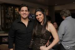 Felipe Pinto e Maria Eduarda Sales