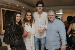 Maria Eduarda, Ana Vládia, Rafael Oliveira e Cássio Sales