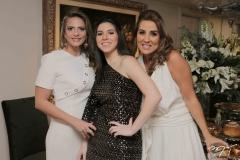 Michelle Aragão, Maria Eduarda e Ana Vládia Sales