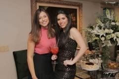 Monalisa Gurjão e Maria Eduarda Sales
