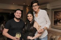 Olavo Barros, Maria Eduarda Sales e Rafael Oliveira