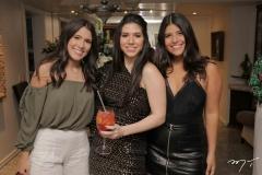 Victoria Macedo, Maria Eduarda Sales e Gabriela Parente