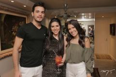 Wesley Aguiar, Maria Eduarda Sales e Victoria Macedo