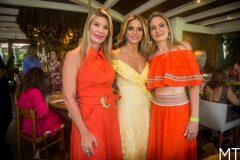 Alessandra, Michelle e Carol Aragão