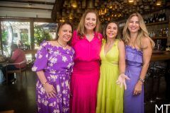 Ana Zelia Gadelha, Andrea Delfino, Adriana Queiroz e Karmilse Marinho