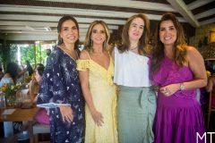 Ane Alcantara, Michelle Aragão, Gisele Castro e Ana Vladia Sales
