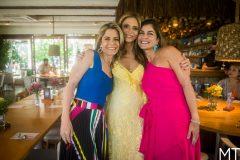 Carla Nogueira, Michelle Aragão e Janice Lins