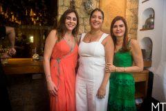 Cristiane Faria, Elisa Oliveira e Lorena Pouchain