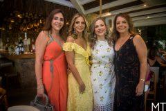 Cristiane Faria, Michelle Aragão, Suyane Dias Branco e Claudia Gradvohl