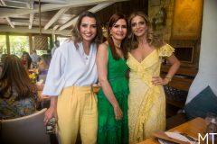 Márcia Travessoni, Lorena Pouchain e Michelle Aragão