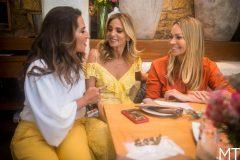Márcia Travessoni, Michelle Aragão e Solange Almeida