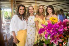 Márcia Travessoni, Suyane Dias Branco, Michelle Aragão e Marcela Dias Branco