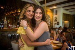 Michelle Aragão e Marcela Dias Branco
