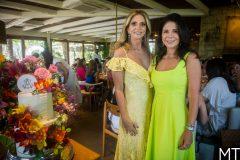 Michelle Aragão e Maria Lucia Negrão