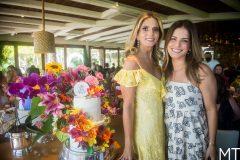Michelle Aragão e Raquel Petroni