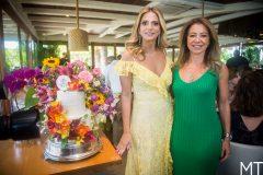 Michelle Aragão e Sandra Machado