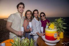 Álvaro, Selene Rolim, Michelle Aragão e Bianca Aragão