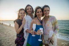 Adriana Praxedes, Michelle Aragão, Carla Nogueira e  Niedja Bezerra