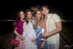 Bianca, Michelle Aragão, Selene e Álvaro Rolim