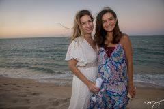 Karmilse Marinho e Cristina Brasil