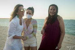 Michelle Aragão, NIedja Bezerra e Solange Horta