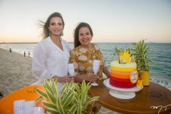 Michelle Aragão e Martinha Assunção