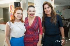Adriana Praxedes, Lilian Porto e Ana Vládia Barreira