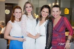 Adriana Praxedes, Michelle Aragão, Niedja Bezerra e Lilian Porto