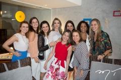 Adriana Praxedes, Raquel Petrone, Niedja Bezerra, Michelle Aragão, Laís Albuquerque, Milena Marques, Cristiane Acioly, Karla Nogueira e Germana Maia