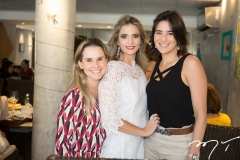 Alice Fortes, Michelle Aragão e Mariana Canamary