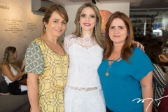 Ana Clara Ferreira Gomes, Michelle Aragão e Vaneska Bezerra