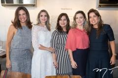 Ana Virgínia Martins, Michelle Aragão, Martinha Assunção, Suyane Dias Branco e Ana Vládia Barreira