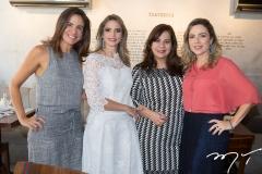 Ana Virgínia Martins, Michelle Aragão, Martinha Assunção e Suyane Dias Branco